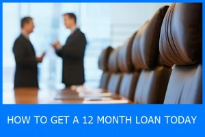 12 month loan today