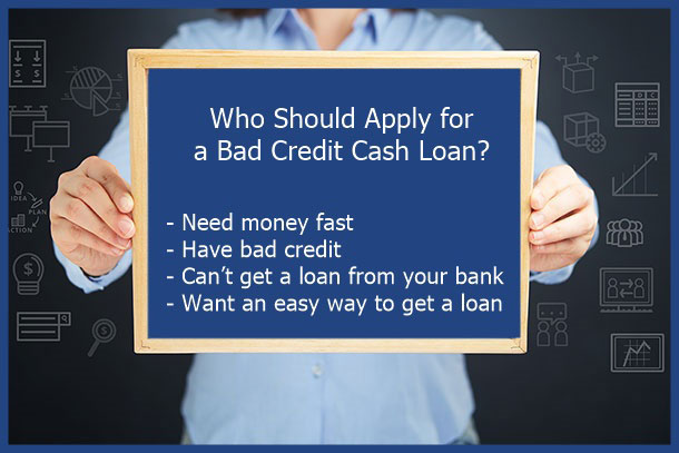 bad credit cash loan