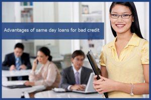 same day loan bad credit