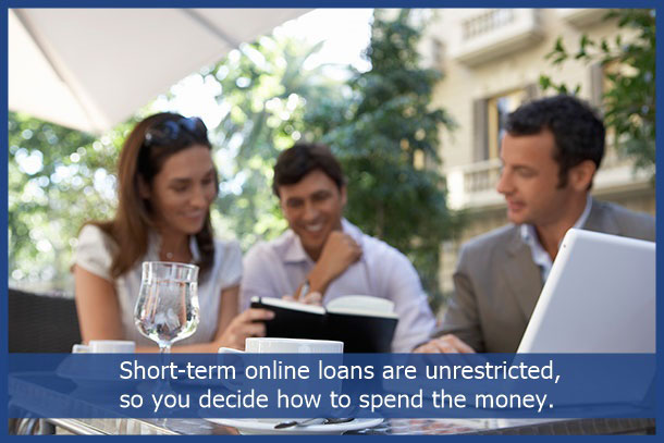short term loan advantages