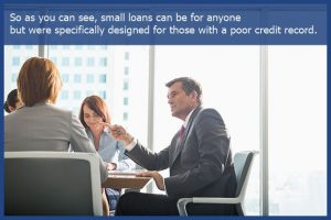 small loan no credit check